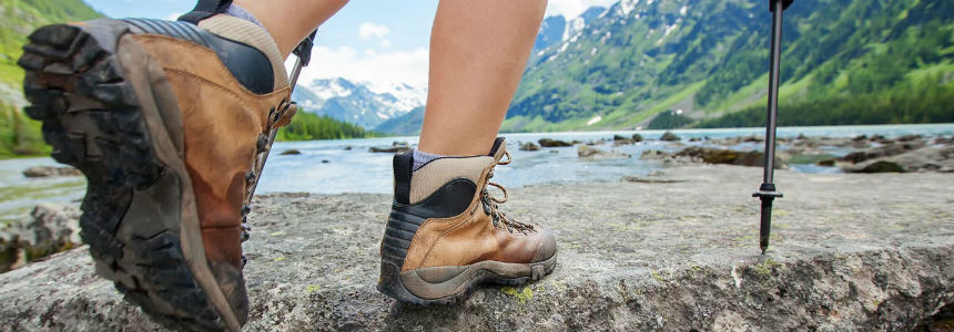 Break in your hiking boots before you go