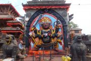 Bhairava Statue, Kathmandu Durbar Square