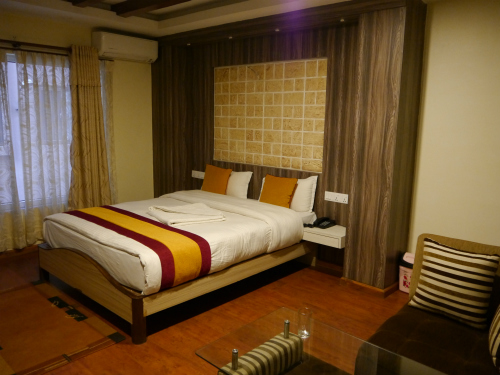 Accommodation in Nepal - Kathmandu Mid-Range Hotel Room