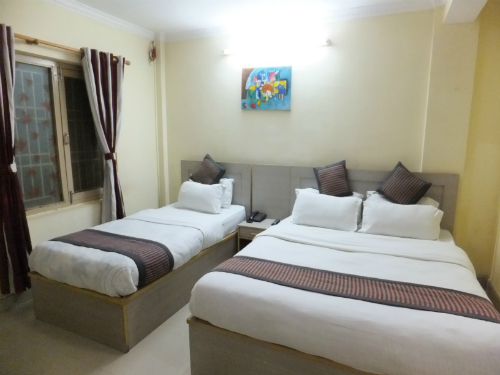 Accommodation in Nepal - Kathmandu Budget Hotel Room
