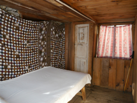 Accommodation in Nepal - Teahouse Room on Langtang Trek