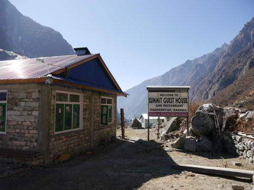 Teahouse in Langtang