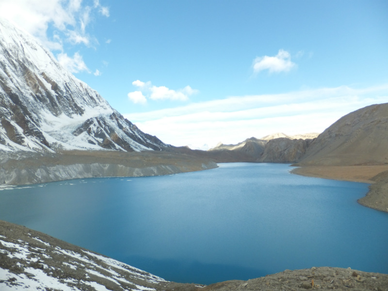 Trek the Annapurna Circuit and take a side trip to Tilicho Lake