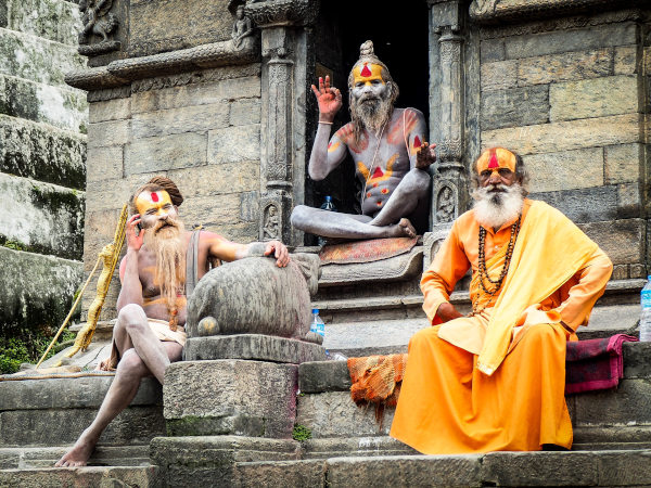 What to do in Kathmandu - Holy Sadhus at Pashupatinath