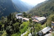 Guest house at Jhinu Danda on Poon Hill and Annapurna Base Camp treks
