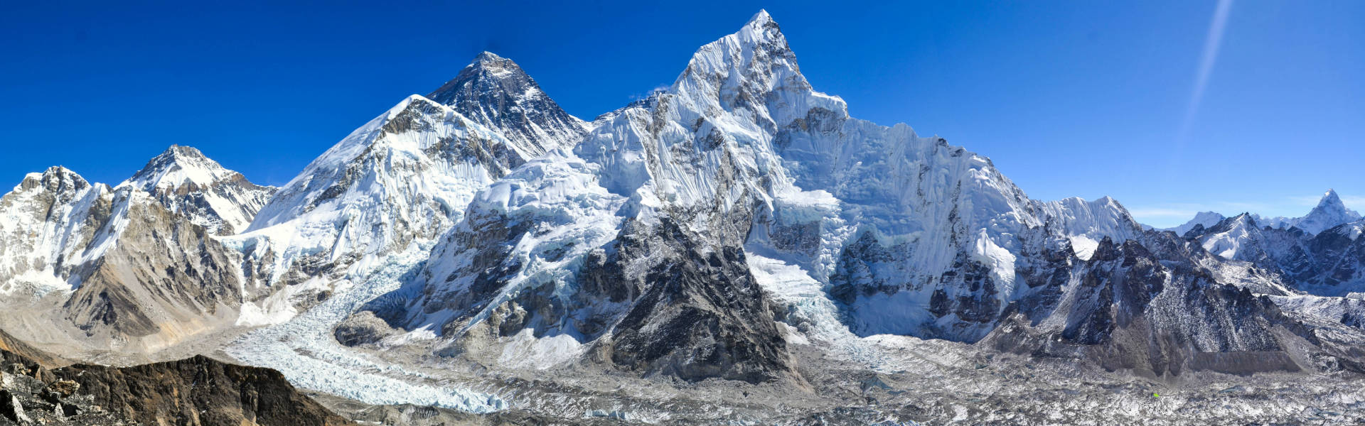 Mount Everest from Kala Patthar, Everest Region
