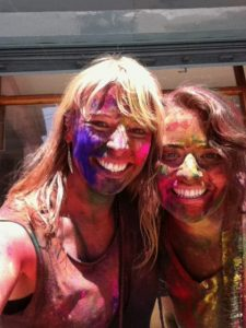 Celebrating Festival of Holi with Friends