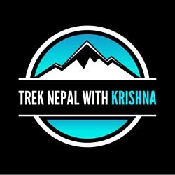 Trek Nepal with Krishna Logo