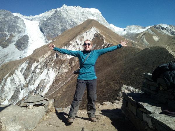 Trekking in the Langtang region: On top of the world on Kyanjin-Ri, Langtang