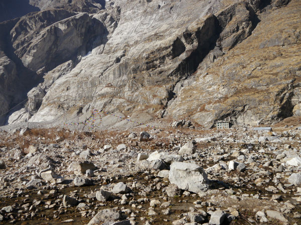 Trekking in the Langtang region: The only house in Langtang that survived earthquake