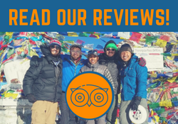 Read our Client Reviews for Customised Private Treks on Trip Advisor