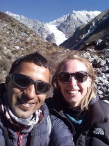 Founders of Nepalorama Trekking - Krishna and Anna
