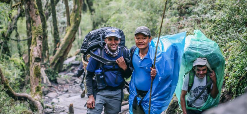 Professional Trekking Guide in Nepal - Krishna Adhikari from Nepalorama Trekking