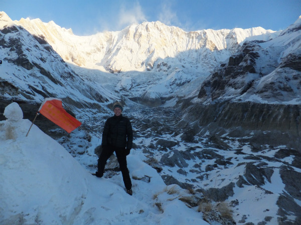 Nepal Trekking Information: Incredible Sunrise at Annapurna Base Camp with Anna from Team Nepalorama
