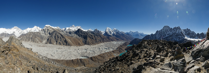 Nepal Trekking Information: Stunning Panoramic View from Gokyo Ri, Everest