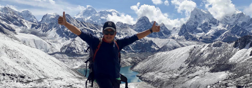 Trusted Nepal Trekking Guide Bibek in the Everest Region