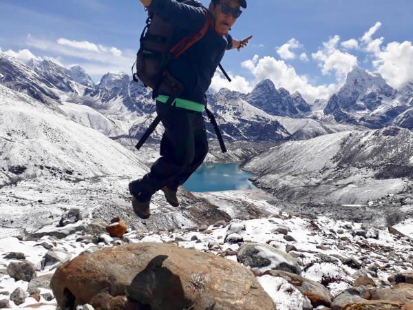 Trusted Nepal Trekking Guide Bibek in the Everest Region