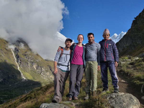 Langtang Valley Recommendation: Walking to the summit!