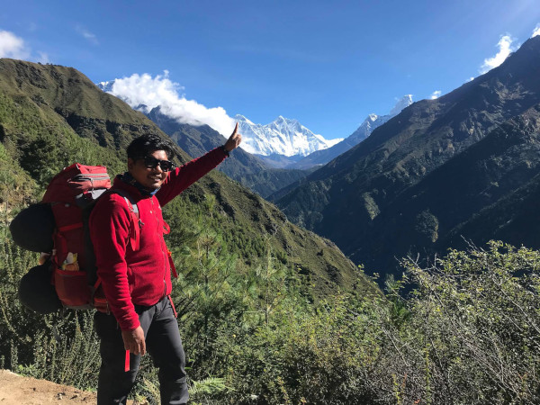 Professional Trekking Guide in Nepal - Buddhi in the Everest Region