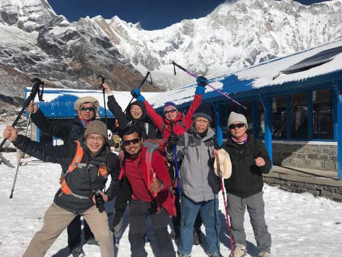 Spend Thai New Year at Annapurna Base Camp
