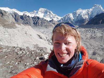 Nepal Trekking Company Nepalorama Trek Coordinator Anna