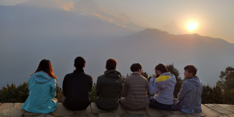Be in good company when you trek Nepal!