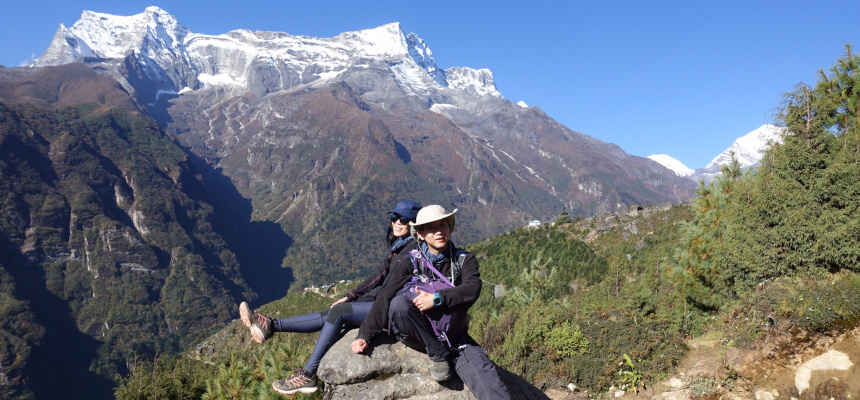 Nepal treks for couples